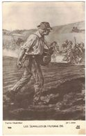 MILITARIA GUERRE 14/18 ILLUSTRATEUR JONAS Galerie Patriotique Les Semailles De L'Automne 1916 Soldat DUNKERQUE - Cimetières Militaires