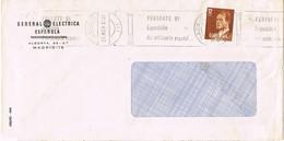 30870. Carta MADRID 1981. Rodillo Especial FERIARTE 81. Anticuario Español - 1981-90 Cartas