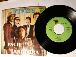 I Paco Andorra  -  1976.  WJK Record.  - Vivrò - Disco, Pop