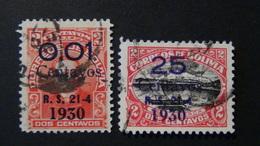 Bolivia - 1930 - Mi:BO 181,184 - Yt:BO 164,167 O - Look Scan - Bolivien