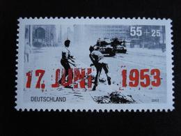 Allemagne - Année 2003 - Emeutes Du 17 Juin 1953 En RDA - Y.T. 2169  - Neuf (**) Mint (MNH) - [7] República Federal