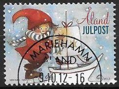 Aland 2012 N°368 Oblitéré Noël - Aland