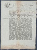 1807.Thérèse Cordier à Champagnole, Contre Thérèse Audrey à Willems. - Documents Historiques