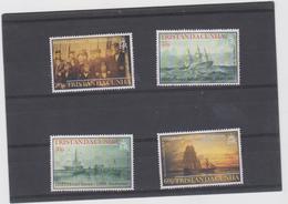 TRISTAN DA CUNHA (GRANDE BRETAGNE) 4 T Neufs Xx - Année 2003 - Bateaux Sauvetage HMS Herald 1853 - Schiffe
