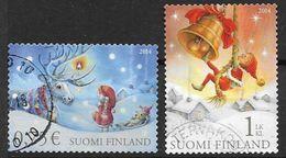 Finlande 2014 N° 2308/2309 Oblitérés Noël - Finlande