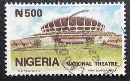 Nigeria  1990 National Theater USED Scott $25 - Nigeria (1961-...)
