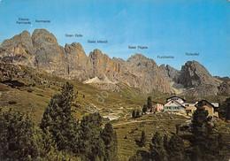 Cartolina Rifugio Firenze Timbri Al Retro - Bolzano (Bozen)
