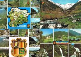 30876. Lote 7 Postales ANDORRA. Arinsal, Canillo, Envalira Y Paisajes Varios - Andorra
