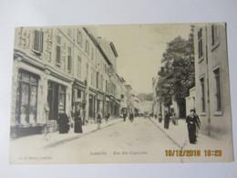 Cpa LUNEVILLE (54) Rue Des Capucins - Luneville