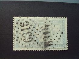 """1868-timbre N° 33- Réparé - Oblitéré """"  Losanges Grands Chiffres     """"      Net   40 Euros - 1862 Napoléon III"""