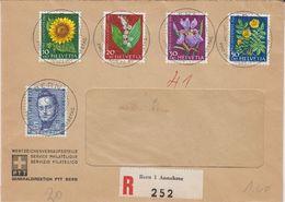 Switzerland 1961 Pro Juventute 5v Registered FDC (41509) - FDC
