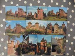 LOT   DE 10 CARTES POSTALES  NEUVES  DE COLLONGES  LA  ROUGE  (19) - Cartes Postales