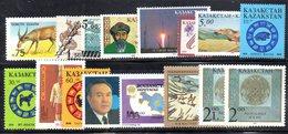 1102 - KAZAKISTAN , 16 Valori Diversi Integri  *** - Kazakistan