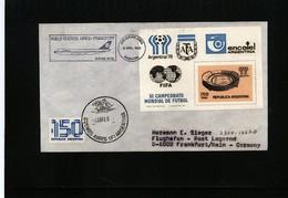 Argentina 1980 Lufthansa Flight Buenos Aires - Frankfurt - Argentinien