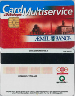 CARD MULTISERVICE AEMIL BANCA (A33.6 - Altri