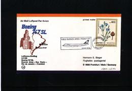 Argentina 1980 Lufthansa Flight Buenos Aires - Frankfurt - Briefe U. Dokumente