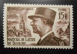 920 France 1952 Neuf Sans Charnière Ni Trace  Maréchal De Lattre De Tassigny Vue De Colmar Et Piton De Ninh Binh - France