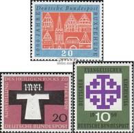 RFA (FR.Allemagne) 312,313,314 (complète.Edition.) Neuf Avec Gomme Originale 1959 Buxtehude, Rock, Kirchentag - [7] Federal Republic
