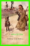 FANTAISIE, HOMMES - EXCHANGE IS NO ROBBERY - ALFRED STIEBEL & CO - LAWSON WOOD - - Hommes