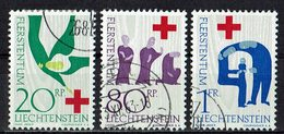 Liechtenstein 1963 // Mi. 428/430 O - Liechtenstein