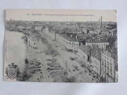 Nantes - Vue Panoramique Prise Du Pont Transbordeur Ref 1729 - Nantes