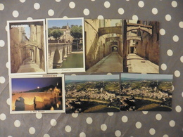 LOT   DE   7     CARTES POSTALES  NEUVES  DE   SOMMIERES (30) - Cartes Postales