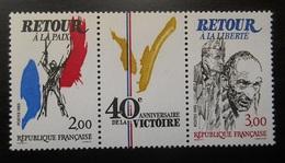 T2369A France 1985 Neuf  Anniversaire De La Victoire Retour à La Paix Retour à La Liberté - Oblitérés