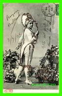 ENFANTS - JEUNE HOMME DANS SON PLUS BEAU COSTUME PAILLETTES - CIRCULÉE EN 1906 - - Portraits