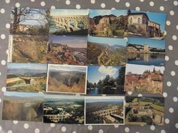 LOT   DE  44    CARTES POSTALES  NEUVES  D U  GARD - Cartes Postales