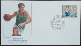 Yougoslavie - FDC 1984 - YT N°1928 - Jeux Olympiques De Los Angeles / Basket Ball - FDC