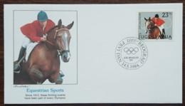 Yougoslavie - FDC 1984 - YT N°1930 - Jeux Olympiques De Los Angeles / Equitation - FDC