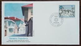 Yougoslavie - FDC 1982 - YT N°1841 - Jeux Olympiques De Sarajevo - FDC