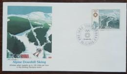 Yougoslavie - FDC 1983 - YT N°1894 - Jeux Olympiques De Sarajevo / Ski Alpin - FDC