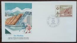 Yougoslavie - FDC 1983 - YT N°1896 - Jeux Olympiques De Sarajevo / Hockey Sur Glace - FDC