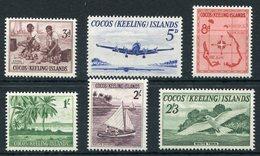 1963-COCOS ISL..- DEFINITIVES-6 VAL.- M.N.H. LUXE !! - Cocos (Keeling) Islands