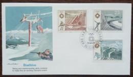 Yougoslavie - FDC 1983 - YT N°1894 à 1896 - Jeux Olympiques De Sarajevo - FDC
