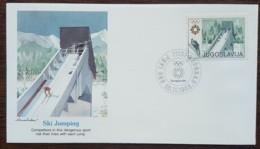 Yougoslavie - FDC 1983 - YT N°1891 - Jeux Olympiques De Sarajevo / Saut à Skis - FDC