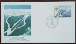 Yougoslavie - FDC 1983 - YT N°1892 - Jeux Olympiques De Sarajevo / Slalom - FDC