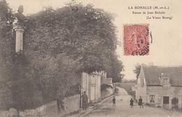 49 - Maine-et-Loire - La Bohalle - Statue De Jean Bohalle - Le Vieux Bourg Animé - France