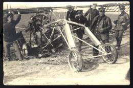 REMILLY 1915 - AVION BIPLAN CRAMÉ - GUERRE DE 14/18 - CENSURE - ZENSUR - CENSORCARD - Foto