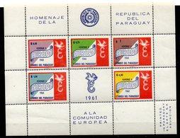 Serie Nº 1026/30 Paraguay - Paraguay