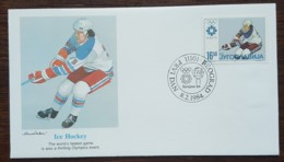 Yougoslavie - FDC 1984 - YT N°1912 - Jeux Olympiques De Sarajevo / Hockey - FDC