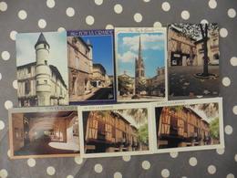 LOT   DE  7  CARTES POSTALES  NEUVES   DE STE  FOY LA  GRANDE (33) - Cartes Postales