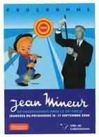 Programme 2006 Journées Patrimoine Valenciennes JEAN MINEUR - Programmes