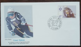 Yougoslavie - FDC 1984 - YT N°1907 - Jeux Olympiques De Sarajevo / Slalom Géant - FDC