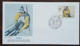 Yougoslavie - FDC 1984 - YT N°1909 - Jeux Olympiques De Sarajevo / Slalom - FDC