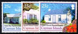 Cayman Islands 2014 Christmas, Churches Unmounted Mint. - Cayman Islands