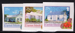Cayman Islands 2014 Christmas, Churches Self-adhesive Unmounted Mint. - Cayman Islands