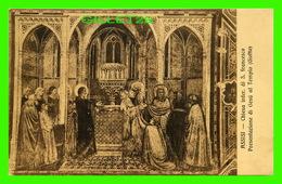 ASSISI, IT - CHIESA INFER. DI S. FRANCESCO PRESENTAZIONE DI GESU AL TEMPIO - EVANGELISTA ROSSI - - Italie
