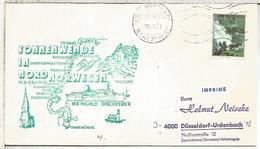 NORUEGA CC CON MAT CABO NORTE NORDKAPP 1979 DESDE EL BUQUE MS WORLD DISCOVER - Filatelia Polar